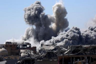 حملات موشکی علیه سوریه