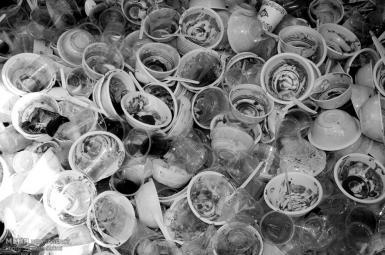 ظروف پلاستیکی یکبارمصرف در نذری ماه محرم