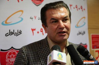 حمید استیلی مدیر تیم فوتبال امید ایران