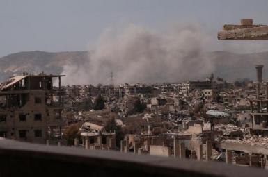 اسرائیل با دو موشک منطقهای در نزدیکی فرودگاه دمشق