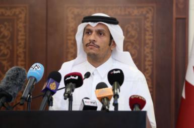 شیخ محمد بنعبدالرحمن آلثانی وزیر خارجهی قطر