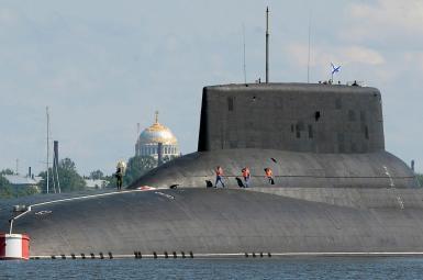 زیردریایی روسی