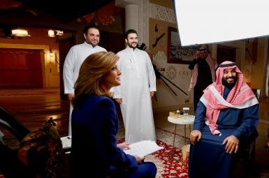 محمد بن سلمان، ولیعهد عربستان سعودی در گفتوگو با شبکه آمریکایی «سی بی اس»