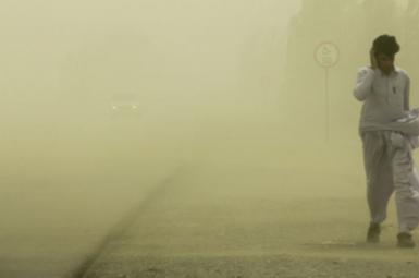 طوفان شن در سیستان و بلوچستان