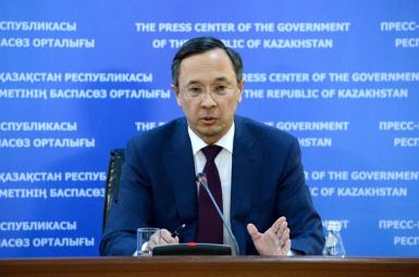 خیرات عبدالرحمانف وزیر خارجه قزاقستان