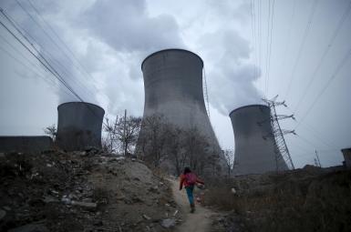 نیروگاه تولید برق از زغالسنگ در چین