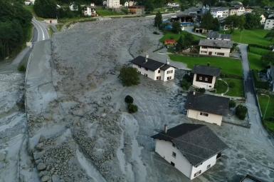 رانش زمین در سوییس