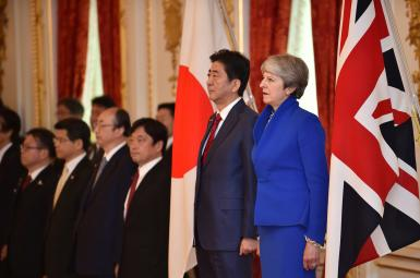 مذاکرات بریتانیا و ژاپن