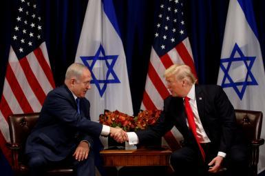 دونالد ترامپ و نتانیاهو