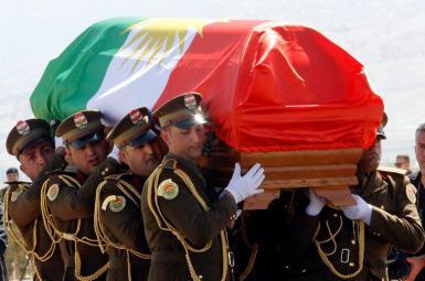 تشییع جنازه جلال طالبانی