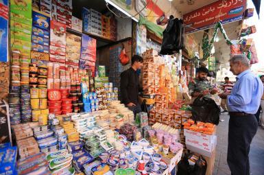 مغازهای در شهر زاخو در اقلیم کردستان عراق