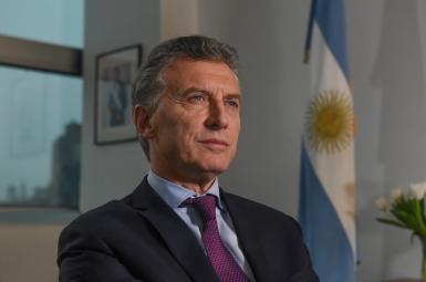 مائوریسیو ماکری رئیس جمهور آرژانتین