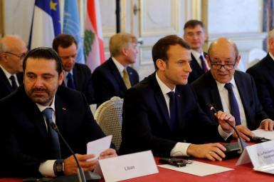 نشست کشورهای حامی لبنان در پاریس