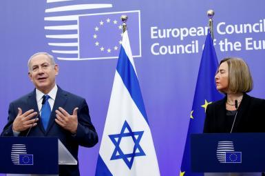 نتانیاهو و موگرینی