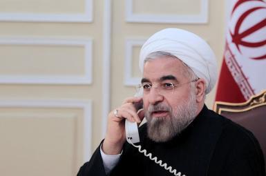 حسن روحانی، رئیس جمهور اسلامی ایران در تماس تلفنی
