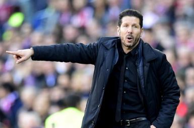 دیگو سیمئونه، سرمربی تیم فوتبال اتلتیکو مادرید اسپانیا