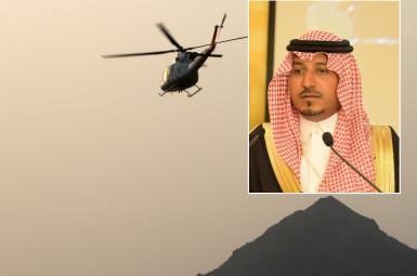 شاهزاده منصور بن مقرن، پسر یک ولیعهد سابق عربستان بود
