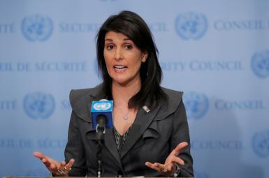 نیکی هیلی، سفیر آمریکا در سازمان ملل
