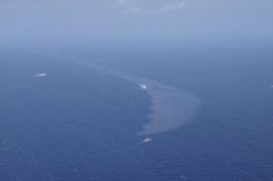 احتمال گسترش آلودگی ناشی از غرق نفتکش سانچی به سواحل ژاپن
