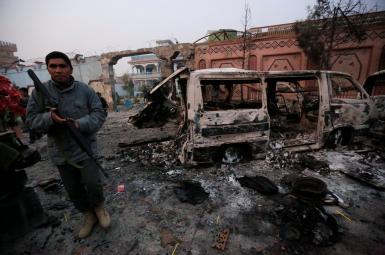 حمله مهاجمان مسلح به «دفتر نجات کودکان» در جلال آباد افغانستان