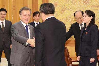 دعوت کیم جونگ اون از رئیسجمهور کره جنوبی برای دیدار از پیونگیانگ