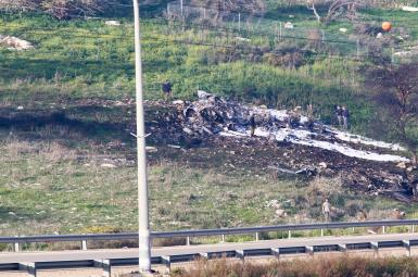 سرنگونی پهپاد ایرانی و اف-۱۶ اسرائیلی از سوی اسرائیل و سوریه