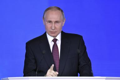 ولادیمیر پوتین رئیسجمهوری روسیه