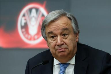 آنتونیو گوترش، دبیر کل سازمانملل متحد