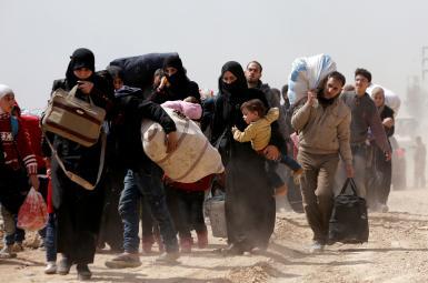 ترک هفت هزار غیرنظامی از غوطه شرقی سوریه