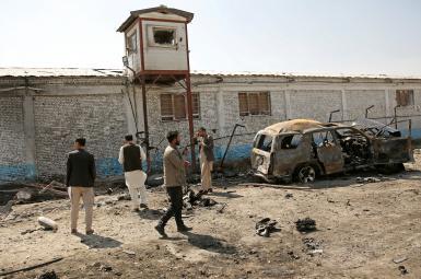 خودروی بمبگذاری شده در کابل