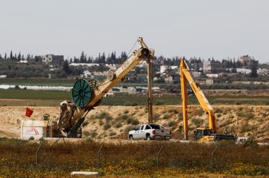نیروهای نظامی اسرائیل یک تونل متعلق به حماس را در نوار غزه مسدود کردند.