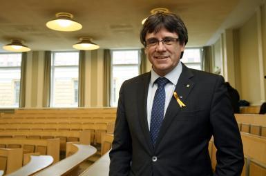 کارلس پوجدمون، رییس برکنارشده دولت منطقه خودمختار کاتالونیای اسپانیا