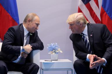 دیدار ترامپ و پوتین در کاخ سفید