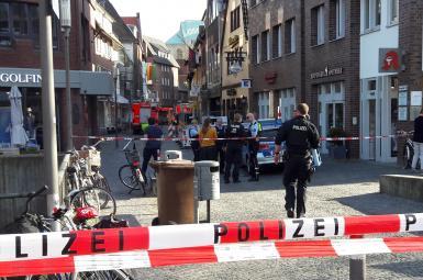 دستکم ۴کشته در حمله با خودرو به مردم در غرب آلمان