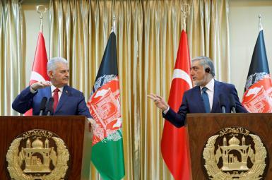 بینالی ییلدریم، نخستوزیر ترکیه، صبح روز یکشنبه ۱۹ فروردینماه، برای دیداری یکروزه وارد کابل، پایتخت افغانستان شد.