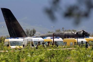 ۲۵۷ کشته در سقوط هواپیمای نظامی در الجزایر