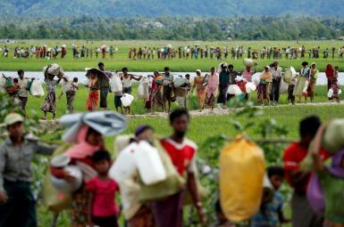 بازگشت نخستین خانواده روهینگیایی به میانمار