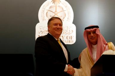 مایک پمپئو، وزیر خارجه جدید کاخ سفید در اولین سفر خاورمیانهای به عربستان