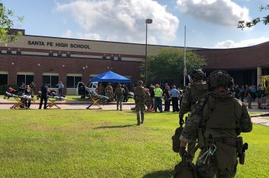 دستکم ۸ کشته در تیراندازی در مدرسهای در تگزاس آمریکا