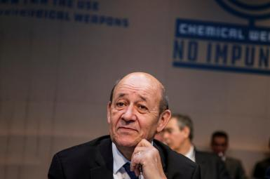 ژانایو لودریان، وزیر خارجه فرانسه