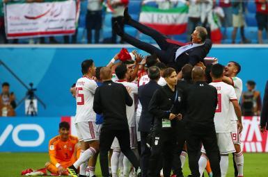پیروزی تیمملی ایران بر تیمملی مراکش در جامجهانی ۲۰۱۸