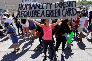 پناهجویان و جدا کردن کودکان از والدینشان در مرز آمریکا