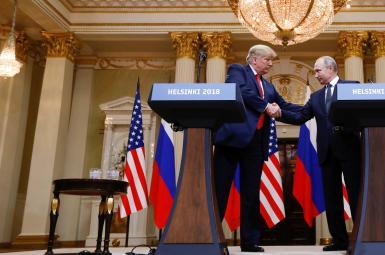 ترامپ در دیدار با پوتین