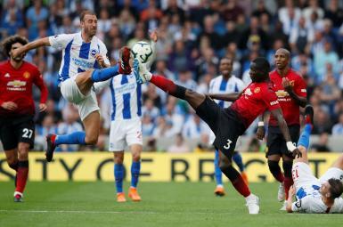 بازی تیم منچستریونایتد مقابل برایتون در هفته دوم لیگ برتر انگلستان
