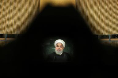 حسن روحانی، رییس جمهوری ایران در مجمععمومی سازمان ملل متحد