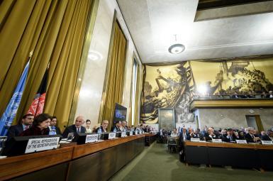 نشست سازمان ملل در ژنو درمورد افغانستان