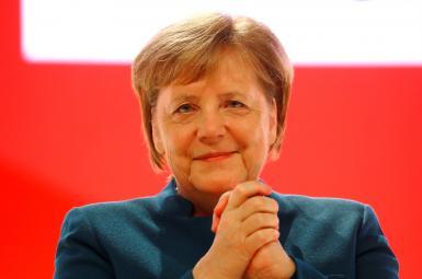 آنگلا مرکل در نشست «حزب دموکرات مسیحی آلمان»