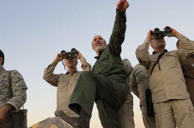بازدید سرلشکر محمد باقری، رییس ستاد کل نیروهای مسلح ایران از مناطقی در حلب در سفر به سوریه