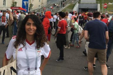 تارا سپهری از فعالان حقوق زنان ایرانی
