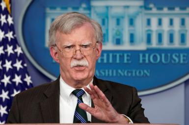 جان بولتون، مشاور امنیت ملی کاخ سفید